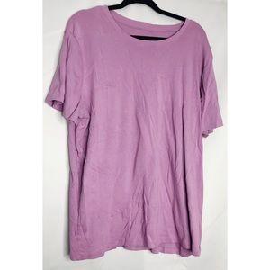 Merona purple lilac 4x the ultimate tee